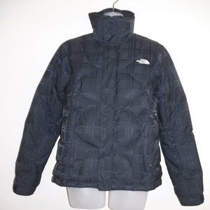 THE NORTH FACE 600 Down Black Plaid Puffer Jacket